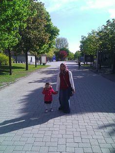 At the gate of Parc Jean Drapeau.