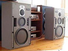Hifi Speakers, Hifi Audio, Tower Speakers, Monitor Speakers, Speaker Stands, Technics Hifi, Radios, Speaker Box Design, Car Audio Systems