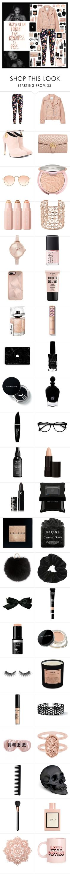 """kindness"" by tiny-girl-big-heart ❤ liked on Polyvore featuring Docele, MANGO, Tom Ford, Gucci, Sephora Collection, Co.Ro, Michael Kors, NARS Cosmetics, Rebecca Minkoff and Maybelline"
