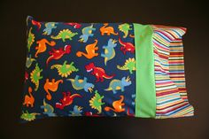 Dinosaur Pillowcase by RusticRanchHands on Etsy