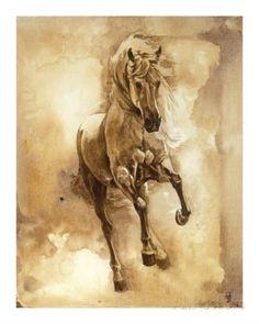 Baroque Horse Series III: III ジクレープリント