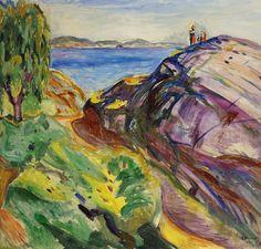 """(munch) """"sommer i kragerø"""" - 1911"""