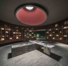 图书馆 - Valextra旗舰店| Neri&Hu设计研究室