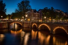 One night in Amsterdam by Sabine Wagner