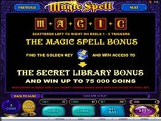 Why don't you play Magic Spell Slot Game Online?