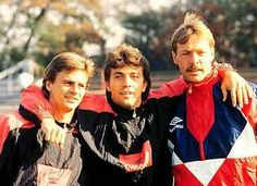 Falco Götz, Bülent Korkmaz and Reinhard Stumpf
