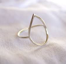 Image result for silver wire rings