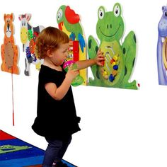 Anatex Frog Wall Panel Wait Area Toy