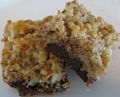 Easy to make, yummy bar cookies.