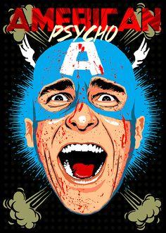 "Curioos.com | ""American Psycho"" by Butcher Billy (Brazil) - http://pinterest.com/curioos"