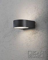 Contemporary wall light / garden / metal