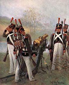 Artiglieria a piedi del ducato di Varsavia