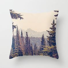 Buy Mountains through the Trees by Kurt Rahn as a high quality Throw Pillow. Worldwide shipping available at Society6.com. Just one of millions of…