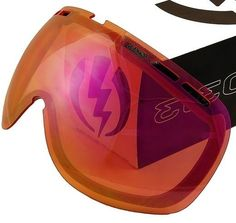 NEW Electric Eg.5 Orange/Pink Mirror Spare Replacement Goggle Goggles Lens