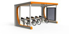Electric Bike charging station