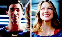 #Supergirl - Clark & Kara #Season2 #2x01