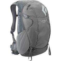 Black Diamond Pulse Backpack - Women's - 1220-1340cu in by Black Diamond. $89.99. Trekking poleice axe loops. Soft, breathable 3D mesh on women's-specific shoulder straps and hipbelt. Zippered front panel access. Hipbelt stash pocket, side stretch pockets and front compression stretch pocket. Patent-pending reACTIV suspension with OpenAir backpanel. A small, lightweight, multi-sport women's-specific daypack with reACTIV suspension