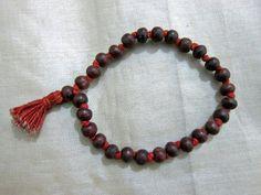 Rosewood Japa Mala Bead Yoga Meditation Prayer Mala Bracelet 27+1 Beads by Mogul Interior, http://www.amazon.com/gp/product/B007DFWCC4/ref=cm_sw_r_pi_alp_jN-vqb1JS3VY6