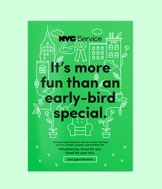 NYC Service Poster Campaign on Behance