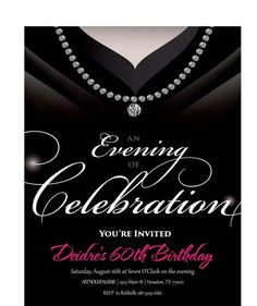 84 best adult birthday party invitations images on pinterest in 2018 gown invitation birthday party invite for women classy adult birthday invitations black and white filmwisefo