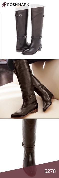 212f73a8664a New Frye Dorado Riding Boot Sizing  Runs small  order 1 2 size up