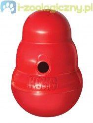 KONG Wobbler - interaktywna zabawka dla psa na smakołyki
