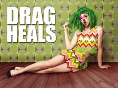 """Lady Kunterpunt dishes on #DragHeals season 2. """"Lady Kunterpunt is like a cartoon villain who's actually too sweet to do anything evil."""" @ilovegaytv @outtv #drag #LGBTQ #QueerTV #GayTV #OntarioCreates Erin Smith, The Client List, Season 2 Episode 1, Clown Faces, Stage Show, The Only Way, Feminine Style, Film Festival, Documentaries"""
