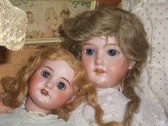 Pretty old dolls