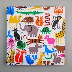 Fauna is offset printed locally using vegetable-based inks on 90gsm, 70 x 50 cm, 100% recycled paper. Two sheets supplied folded three times and di...
