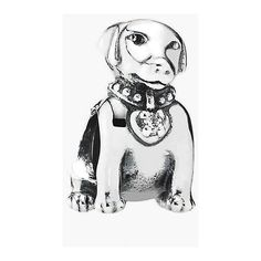 PANDORA 'Labrador' Dog Bead Charm (2.750 RUB) ❤ liked on Polyvore featuring jewelry, pendants, silver, pandora charms, beading charms, beads & charms, pandora jewelry and beads jewellery