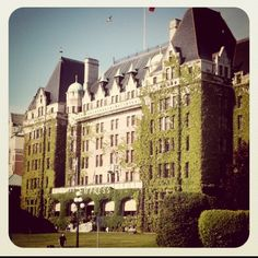 The Empress Hotel in Victoria, BC.  I have been to Victoria just not to the Hotel, yet...