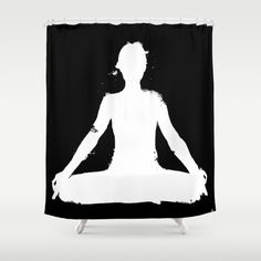 Bathroom Yoga Poses joker - the animated series bat man funny shower curtain | funny