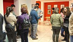 #exposición #arte #pintura #laespiral #jerezdeloscaballeros #fotografía