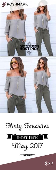 Large Off The Shoulders Gray Blouse -ALL MOST GONE Off The Shoulders Gray Blouse. Great addition to this fall season. Small = Size 4, Medium = Size 6, Large = Size 8, Extra Large = Size 10 . Polyester material. Tops Blouses