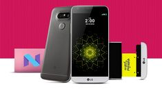 LG Electronics has launched the Android 7.0 OS Nougat update for G5 smartphone. LG G5 smartphone users will receive first OS upgrade in Korea.