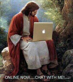 On jest na czacie - online