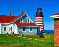 Maine Lighthouses and Beyond: West Quoddy Head Lighthouse