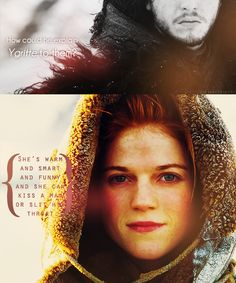 "Game of Thrones - Jon/Ygritte ""You know nothing, Jon Snow."""