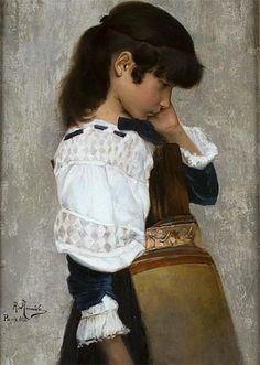 Rodolfo Amoedo (1857–1941), Sad, 1882