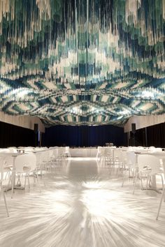3D Rug Art: More Than One Million Threads Suspended on the Ceiling | Jeannie Huang
