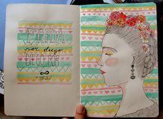 Ilustração - Valentina Contreras