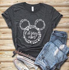 Disney vibes shirt- womens disney shirt- unisex disney shirt- cute disney shirt- disney inspired shirt - Cute outfits for school - Disney World Outfits, Disney World Shirts, Cute Disney Shirts, Cute Disney Outfits, Disneyland Outfits, Disney Tees, Disney World Trip, Cool Shirts, Disney Shirts Women