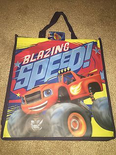 Disney Villains 166789: Monster Truck Tote Bag Party Favor Goody Bag Reuseable 24 Pieces Blazing Speed -> BUY IT NOW ONLY: $39.99 on eBay!