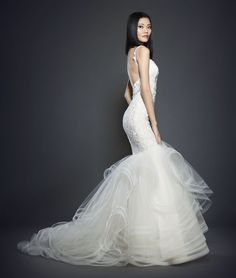 Shop Our Romantic Lazaro Couture Wedding Dress And Bridal Gown Collection At Reflections New York Salons