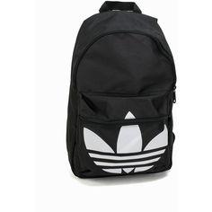 a265311a Adidas Originals Bp Clas Trefoil (330 HKD) ❤ liked on Polyvore featuring  bags, accessories, black, womens-fashion, logo bags, adidas originals bag,  ...