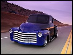 1950 Chevrolet Pickup 502 CI, Corvette Suspension presented as lot at Houston, TX 2013 - 54 Chevy Truck, Chevy Pickup Trucks, Classic Chevy Trucks, Chevy Pickups, Chevrolet Trucks, Gmc Trucks, Classic Cars, Chevrolet 3100, Classic Auto