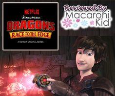 NETFLIX PREMIERES NEW ORIGINAL SERIES FOR DRAGON MOVIE FANS @Netflix #MacKid #AD
