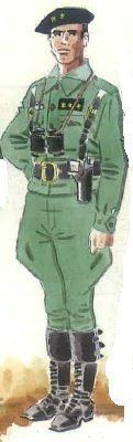 """Spanish civil war """" Capitán habilitado de las compañías de carros ligeros de la Legión. 1938-39"""" pin by Paolo Marzioli"""