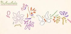 Flowes and butterflies.