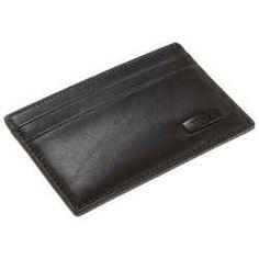 Slim leather wallets for men.